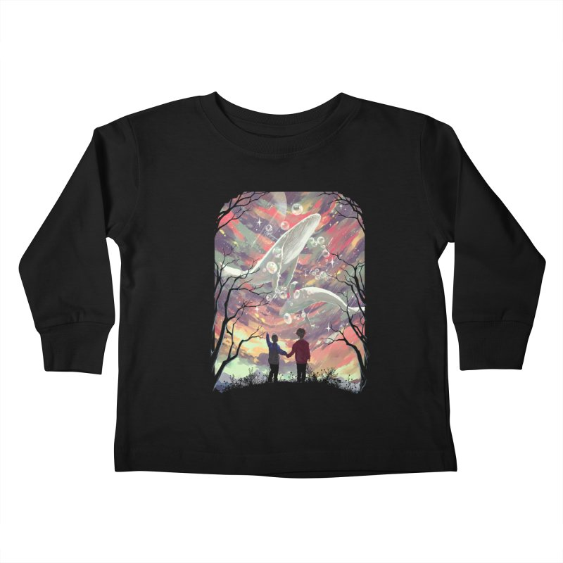 BALYENA Kids Toddler Longsleeve T-Shirt by SPYKEEE's Artist Shop