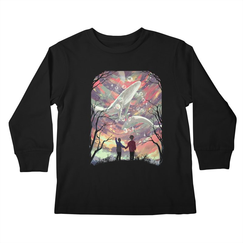 BALYENA Kids Longsleeve T-Shirt by SPYKEEE's Artist Shop