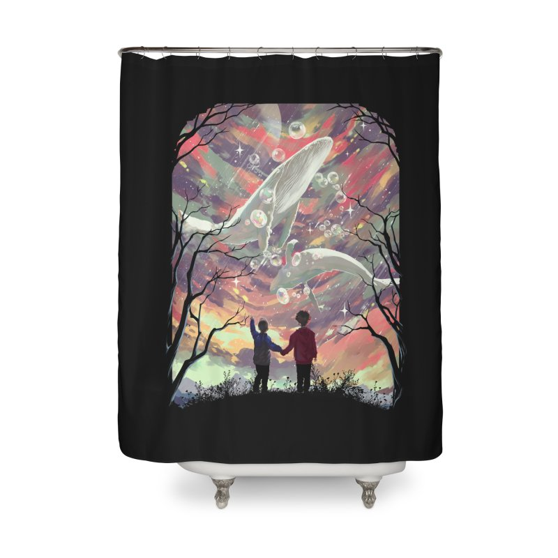 BALYENA Home Shower Curtain by SPYKEEE's Artist Shop