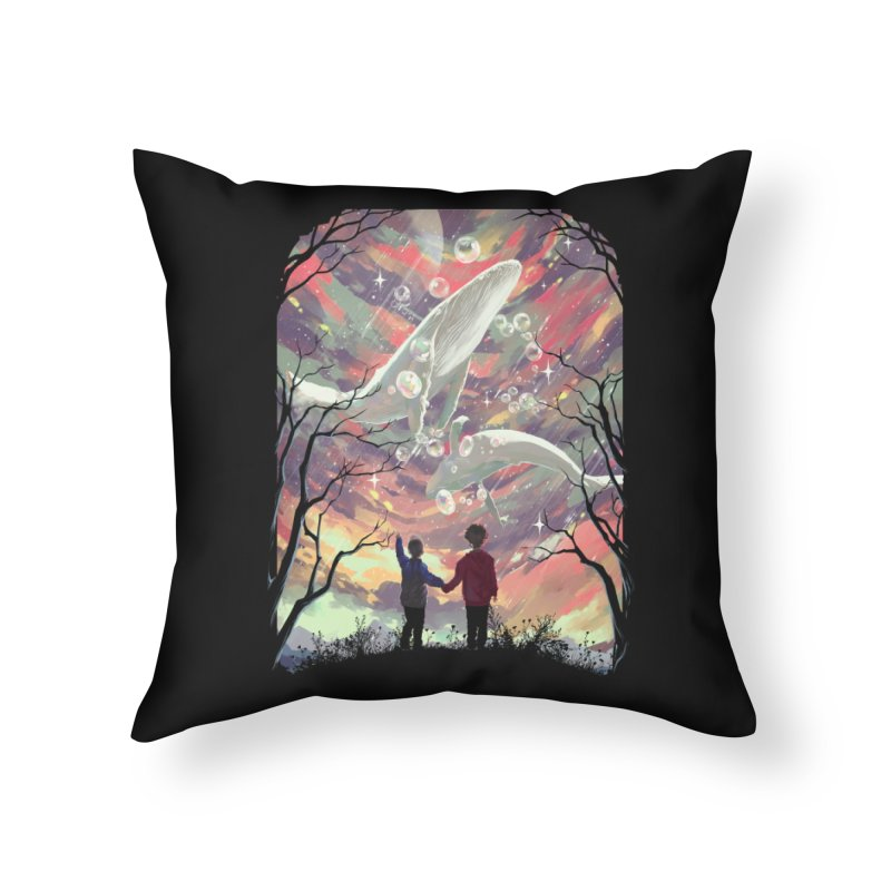 BALYENA Home Throw Pillow by SPYKEEE's Artist Shop