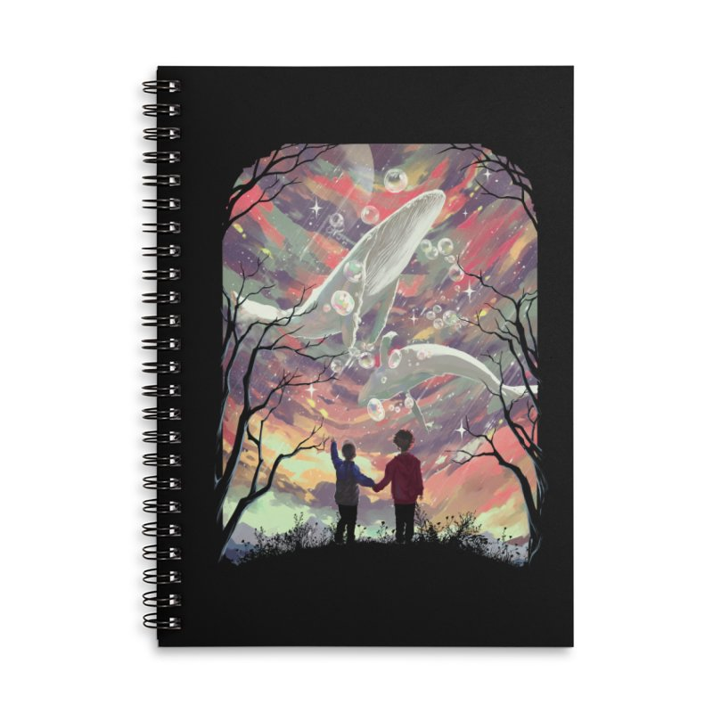 BALYENA Accessories Lined Spiral Notebook by SPYKEEE's Artist Shop