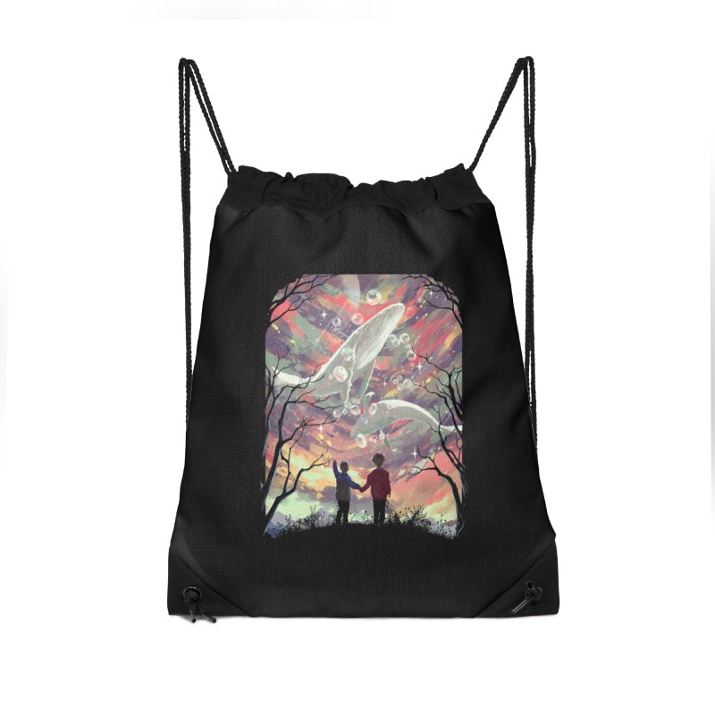 BALYENA Accessories Drawstring Bag Bag by SPYKEEE's Artist Shop