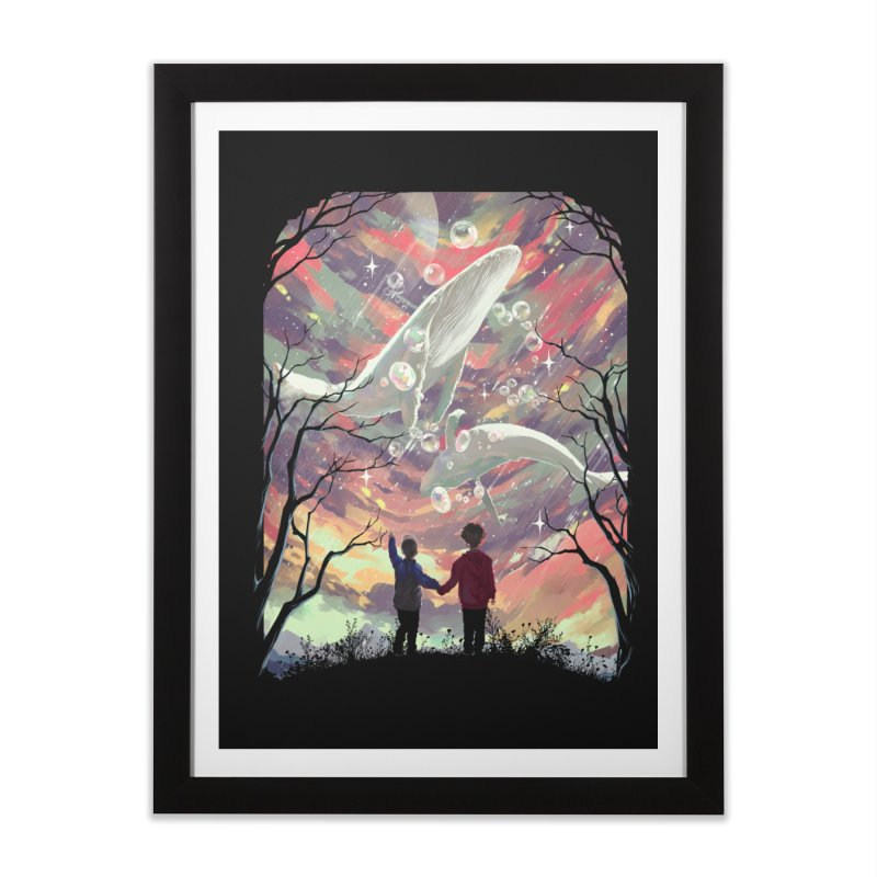 BALYENA Home Framed Fine Art Print by SPYKEEE's Artist Shop