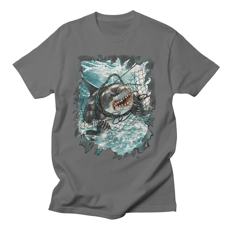 SHARK BAIT Men's T-Shirt by SPYKEEE's Artist Shop