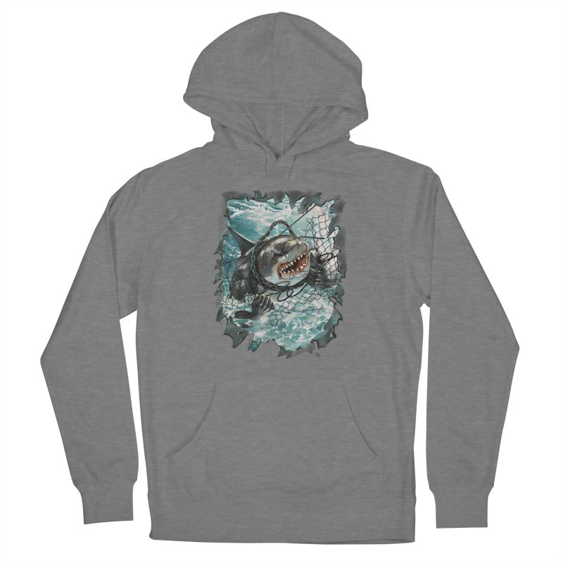 SHARK BAIT Women's Pullover Hoody by SPYKEEE's Artist Shop
