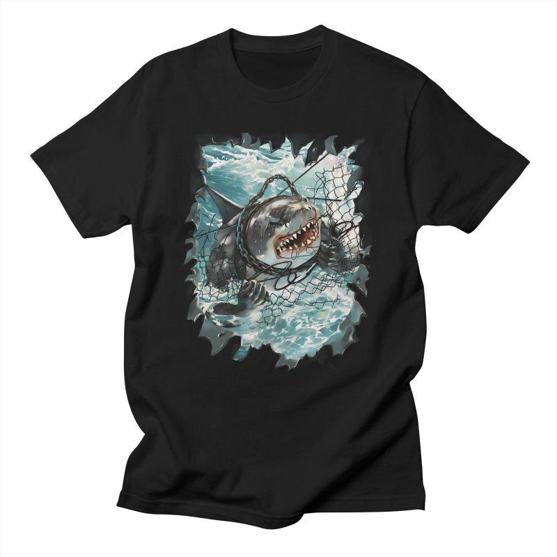 SHARK BAIT Men's Regular T-Shirt by SPYKEEE's Artist Shop