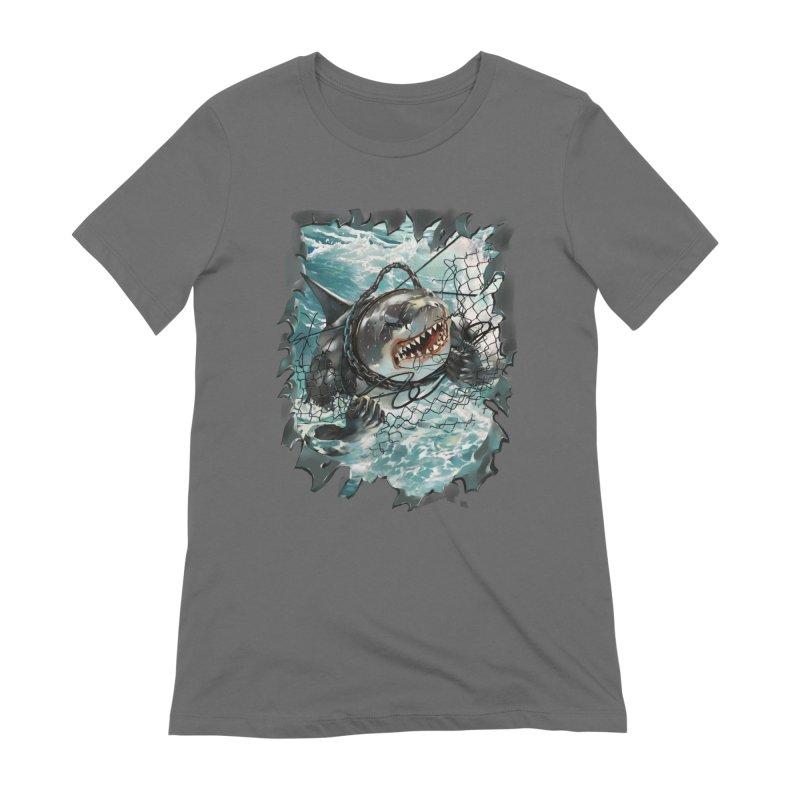 SHARK BAIT Women's T-Shirt by SPYKEEE's Artist Shop