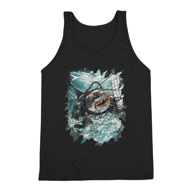 SHARK BAIT Men's Tank by SPYKEEE's Artist Shop