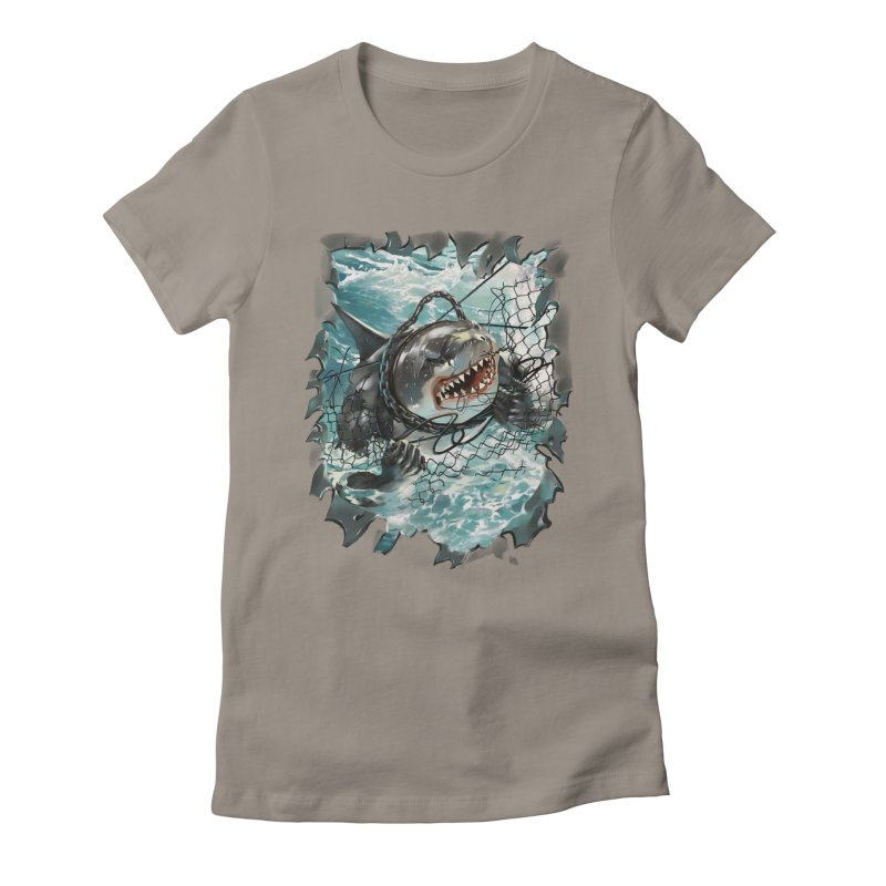 SHARK BAIT Women's T-Shirt by SPYKEEE's Artist Shop