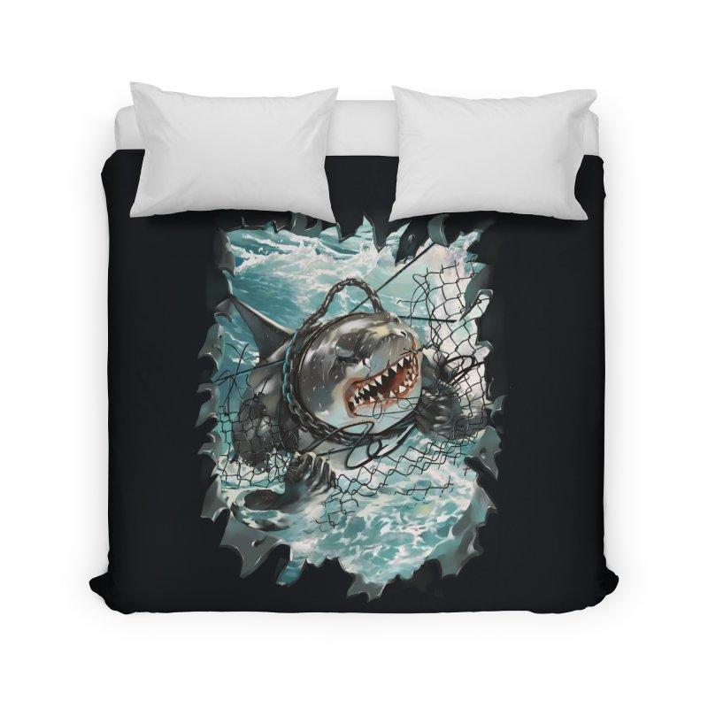 SHARK BAIT Home Duvet by SPYKEEE's Artist Shop