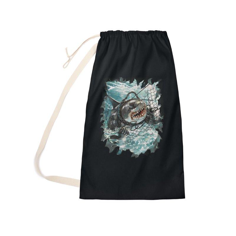 SHARK BAIT Accessories Bag by SPYKEEE's Artist Shop