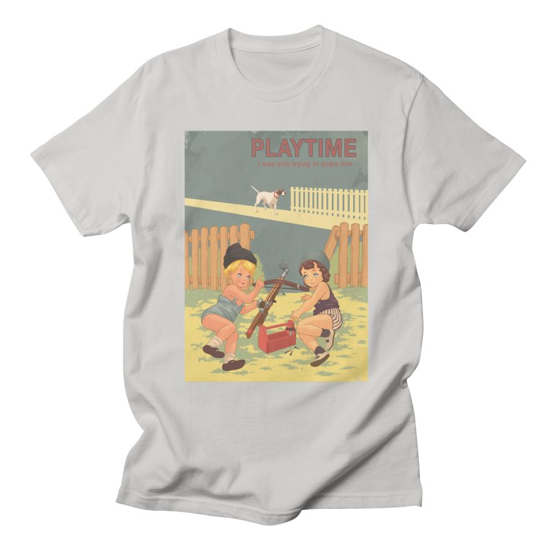 PLAYTIME Men's T-Shirt by SPYKEEE's Artist Shop