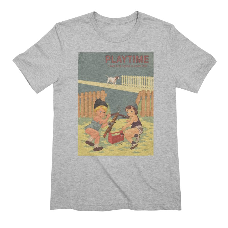 PLAYTIME Men's Extra Soft T-Shirt by SPYKEEE's Artist Shop