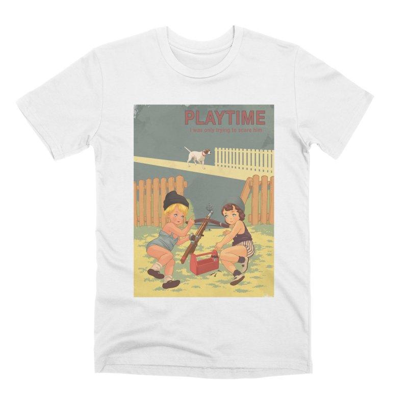 PLAYTIME Men's Premium T-Shirt by SPYKEEE's Artist Shop