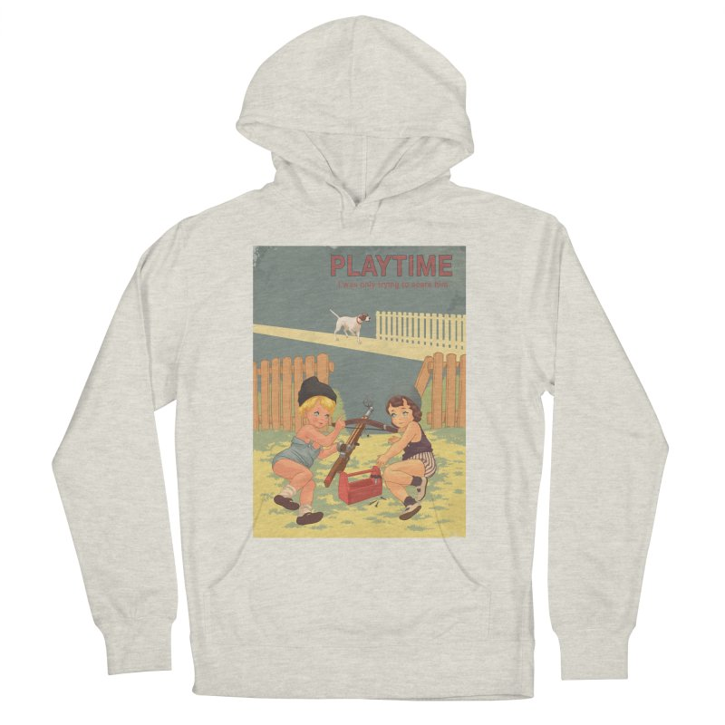 PLAYTIME Men's French Terry Pullover Hoody by SPYKEEE's Artist Shop