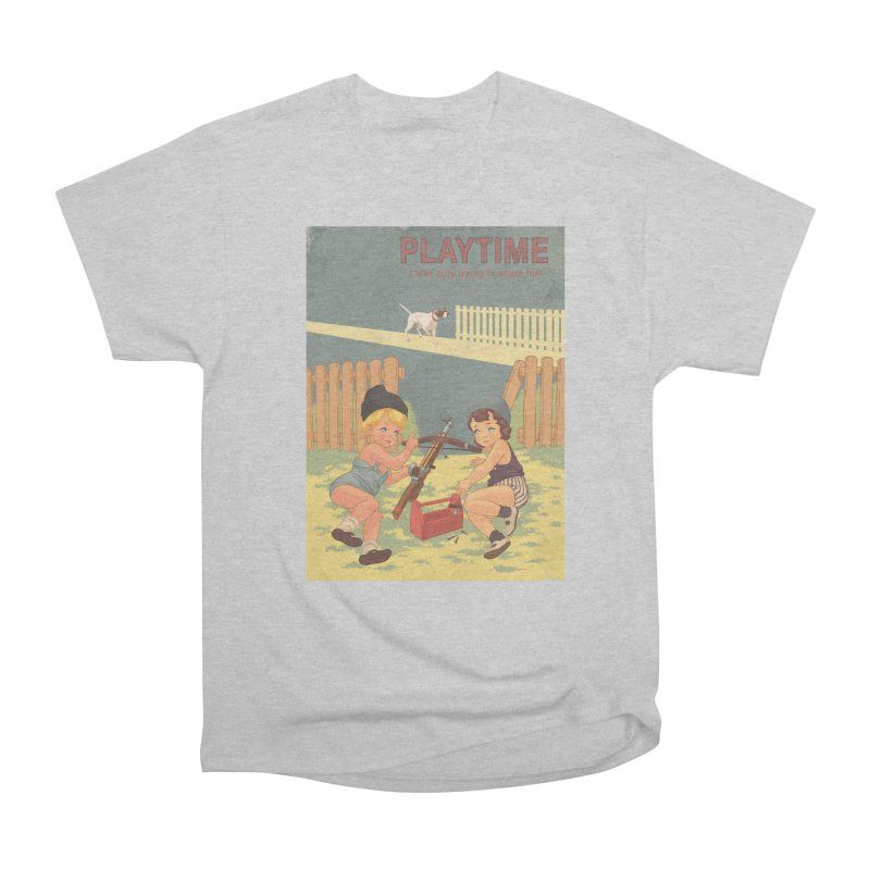 PLAYTIME Women's Heavyweight Unisex T-Shirt by SPYKEEE's Artist Shop
