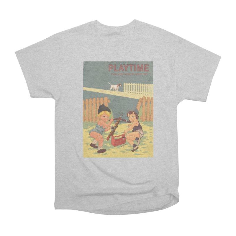 PLAYTIME Men's Heavyweight T-Shirt by SPYKEEE's Artist Shop