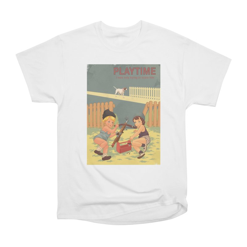 PLAYTIME Women's Heavyweight Unisex T-Shirt by SPYKEEE's Artist Shop