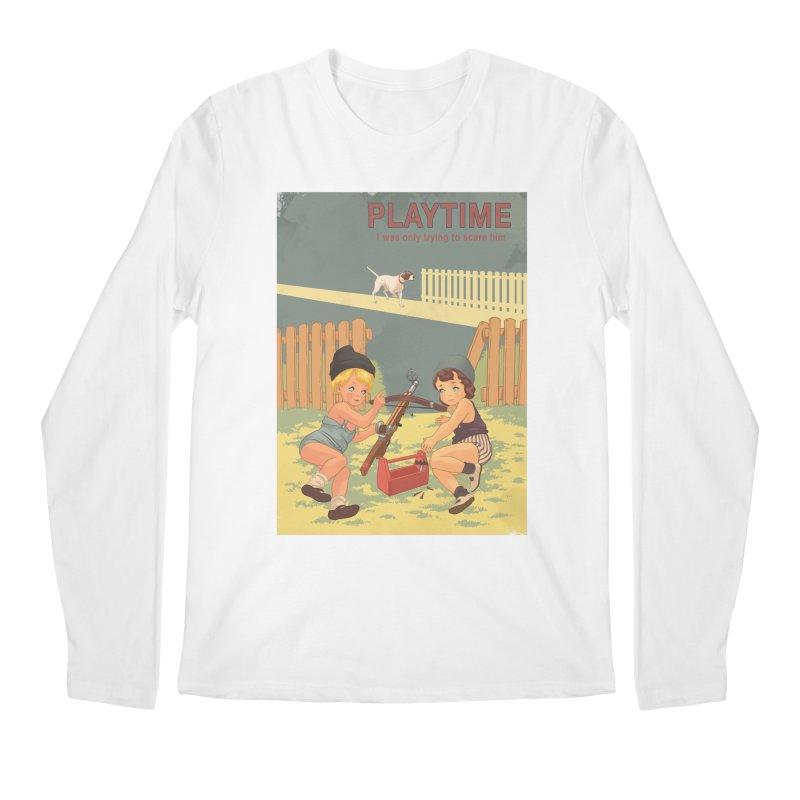 PLAYTIME Men's Regular Longsleeve T-Shirt by SPYKEEE's Artist Shop