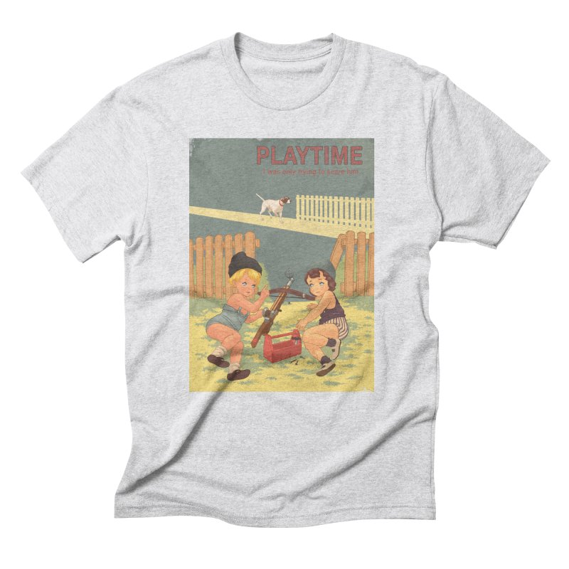 PLAYTIME Men's Triblend T-Shirt by SPYKEEE's Artist Shop