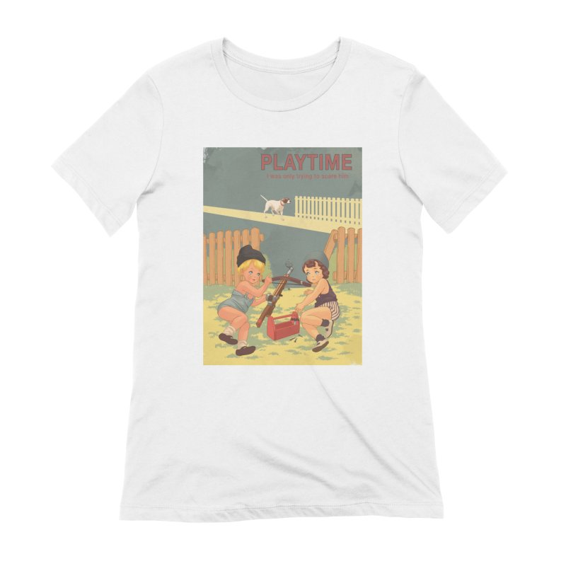 PLAYTIME Women's T-Shirt by SPYKEEE's Artist Shop