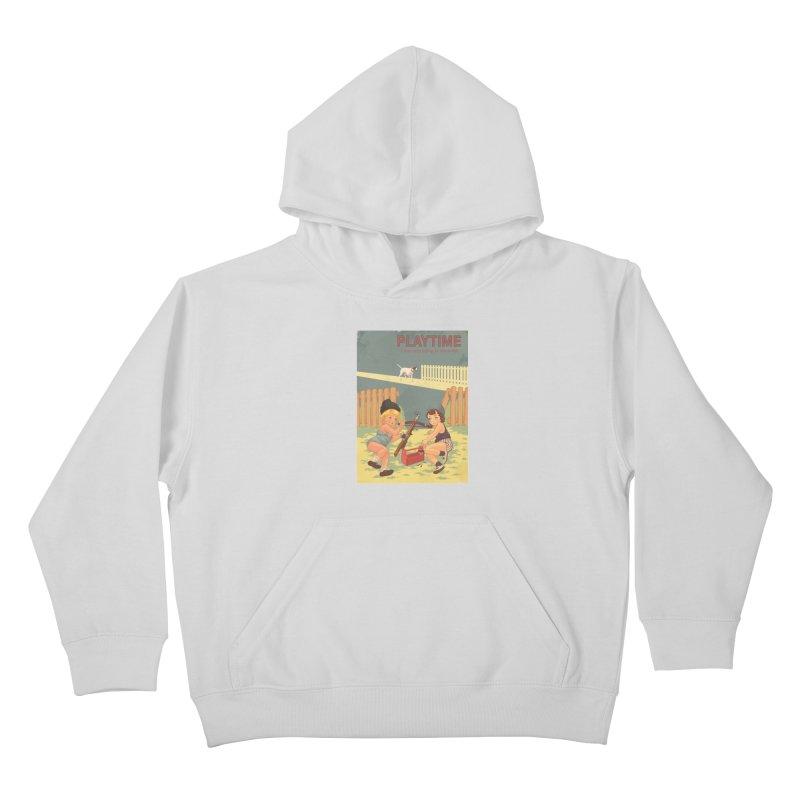 PLAYTIME Kids Pullover Hoody by SPYKEEE's Artist Shop