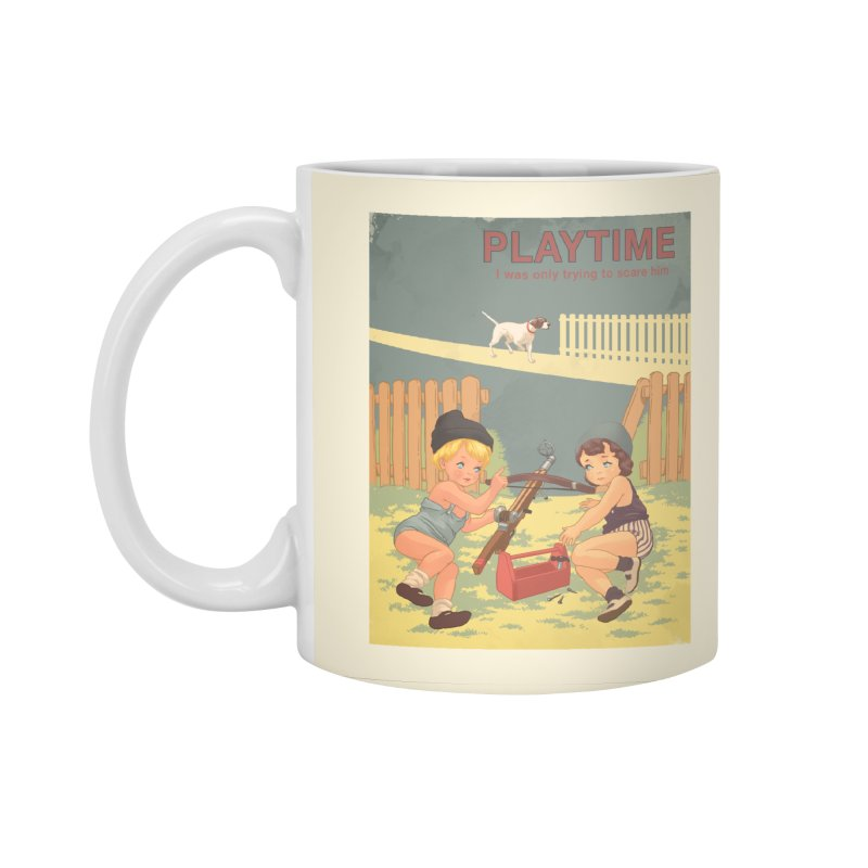 PLAYTIME Accessories Standard Mug by SPYKEEE's Artist Shop