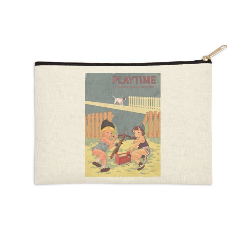 PLAYTIME Accessories Zip Pouch by SPYKEEE's Artist Shop