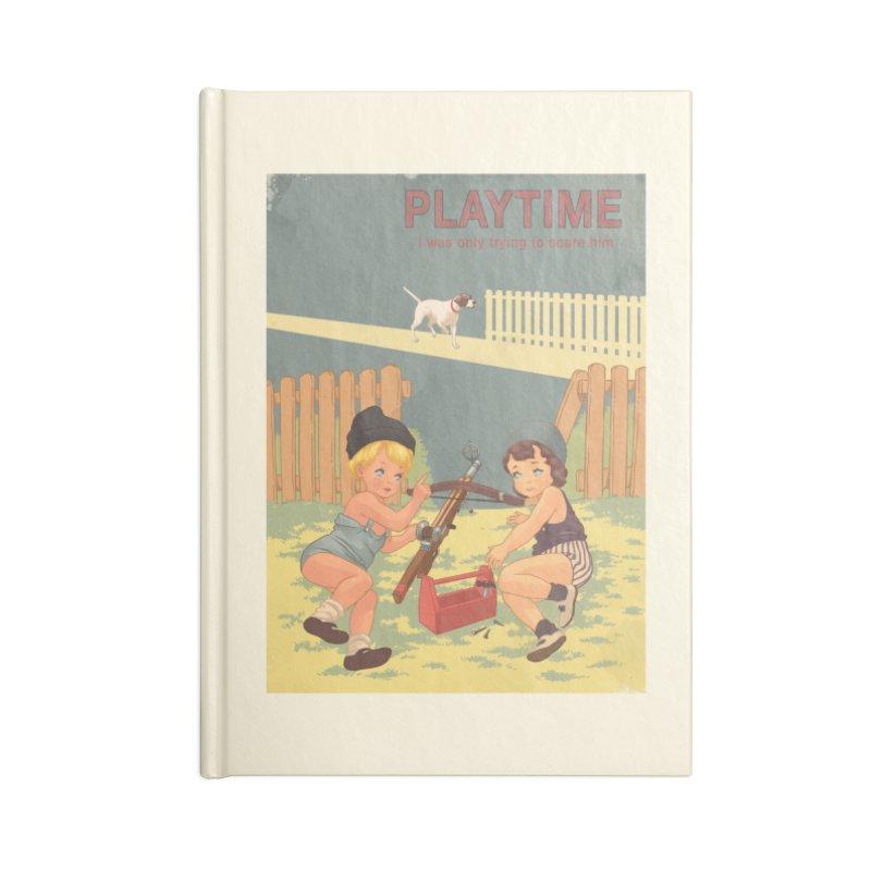 PLAYTIME Accessories Blank Journal Notebook by SPYKEEE's Artist Shop