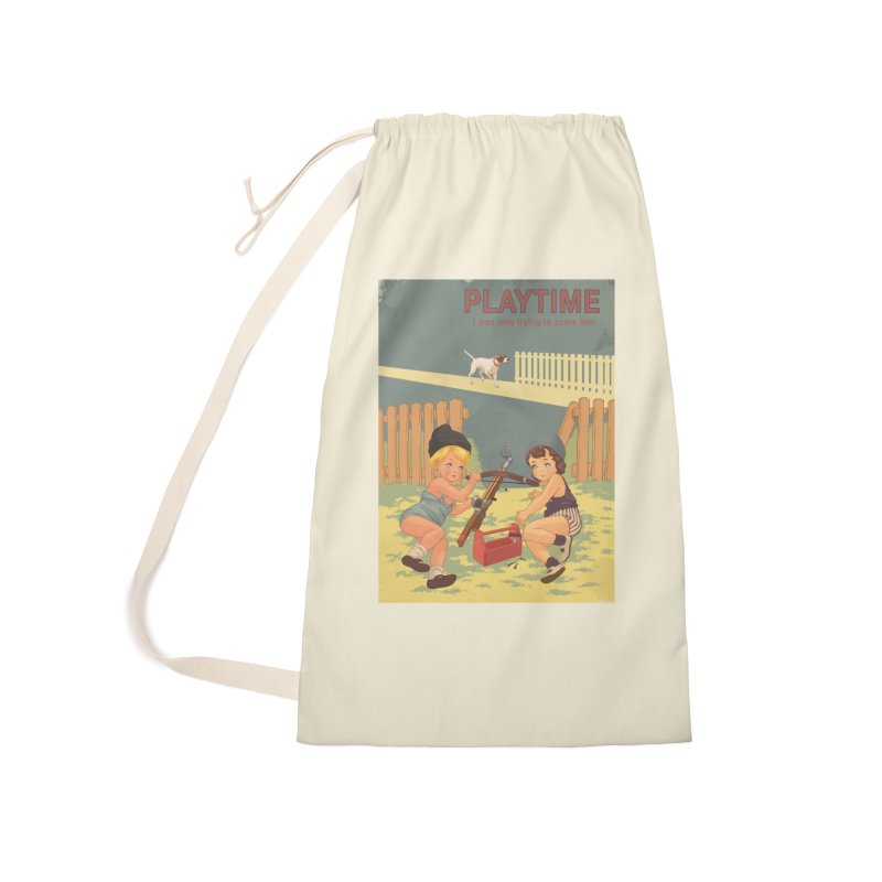PLAYTIME Accessories Laundry Bag Bag by SPYKEEE's Artist Shop