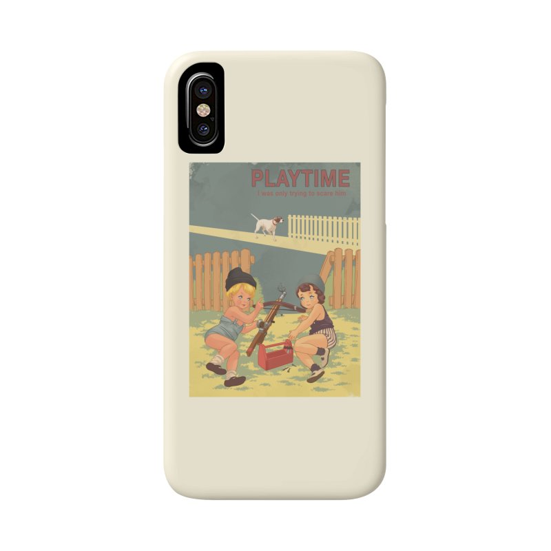 PLAYTIME Accessories Phone Case by SPYKEEE's Artist Shop