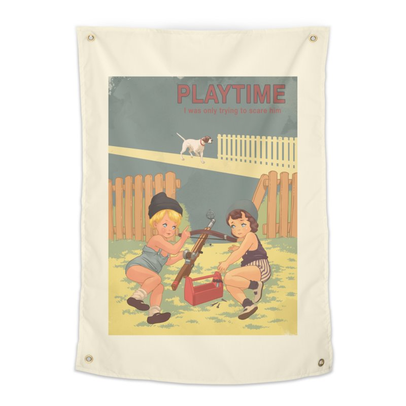 PLAYTIME Home Tapestry by SPYKEEE's Artist Shop