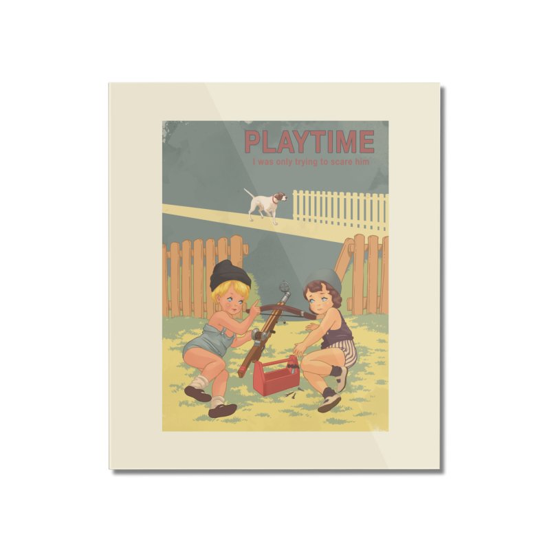 PLAYTIME Home Mounted Acrylic Print by SPYKEEE's Artist Shop
