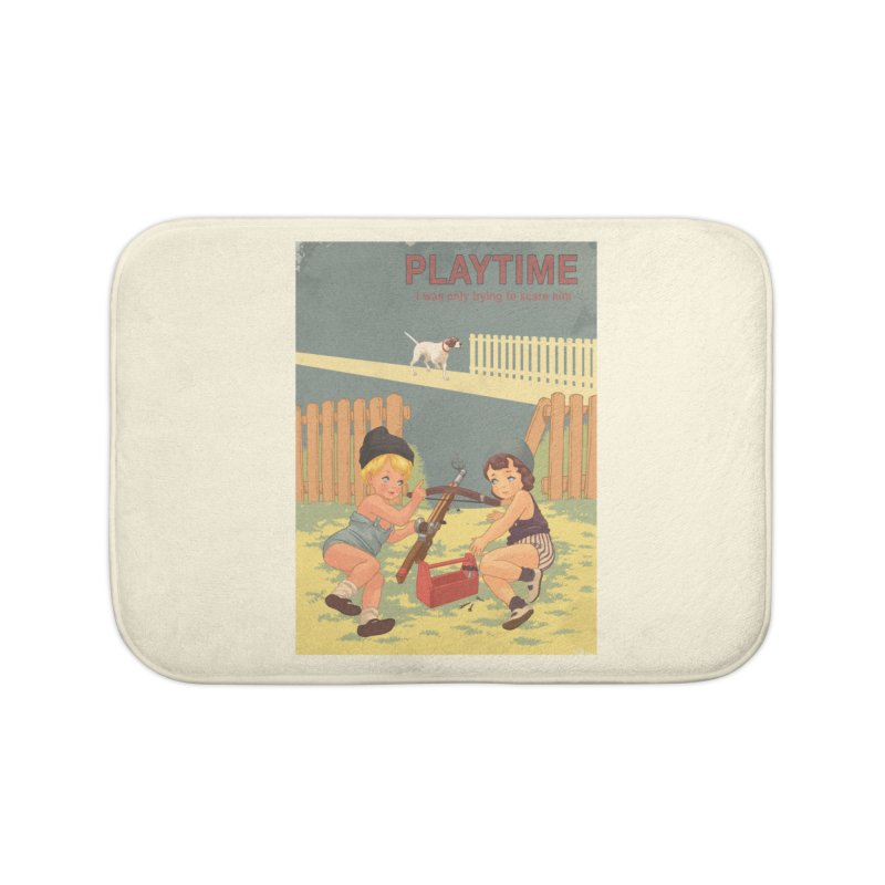 PLAYTIME Home Bath Mat by SPYKEEE's Artist Shop