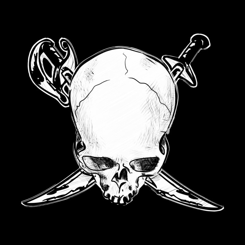 Dead Head Pirate by spysee's Artist Shop