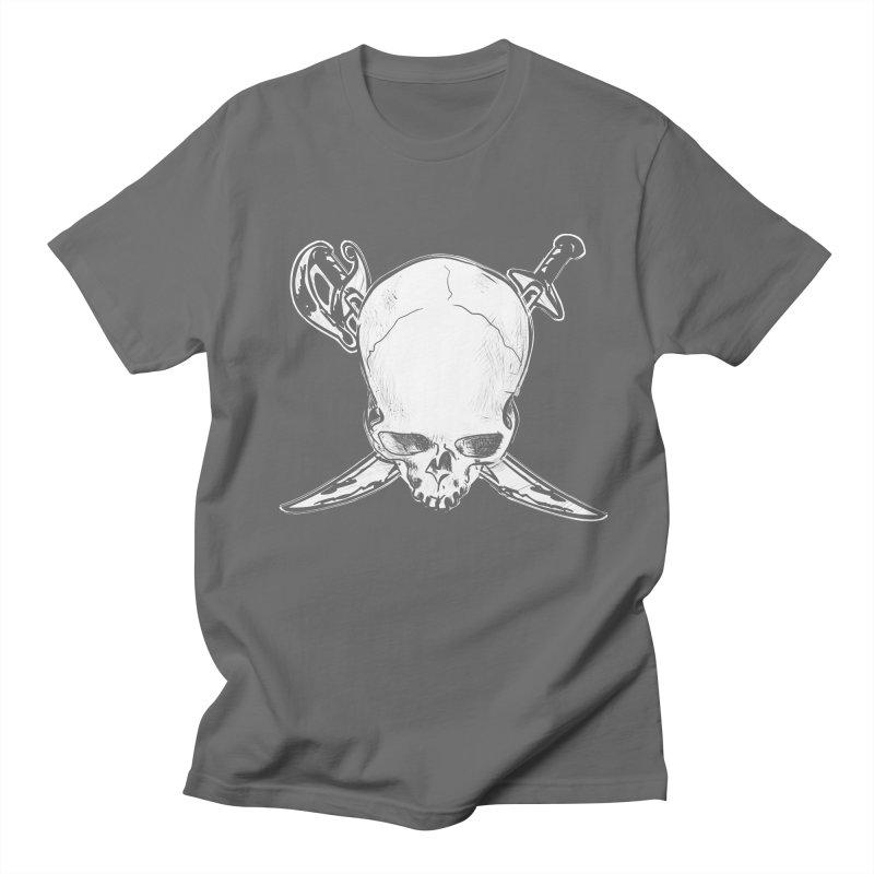 Dead Head Pirate Men's T-Shirt by spysee's Artist Shop