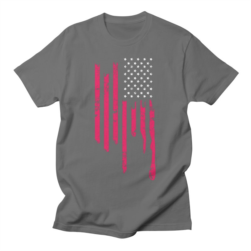 Dripping Stripes Men's T-Shirt by spysee's Artist Shop