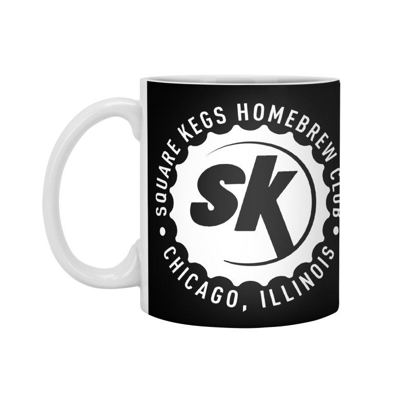Square Kegs Accessories Mug by squarekegs's Shop