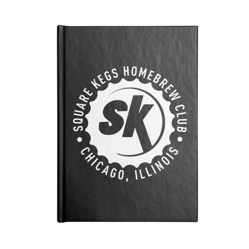 Square Kegs Accessories Notebook by squarekegs's Shop