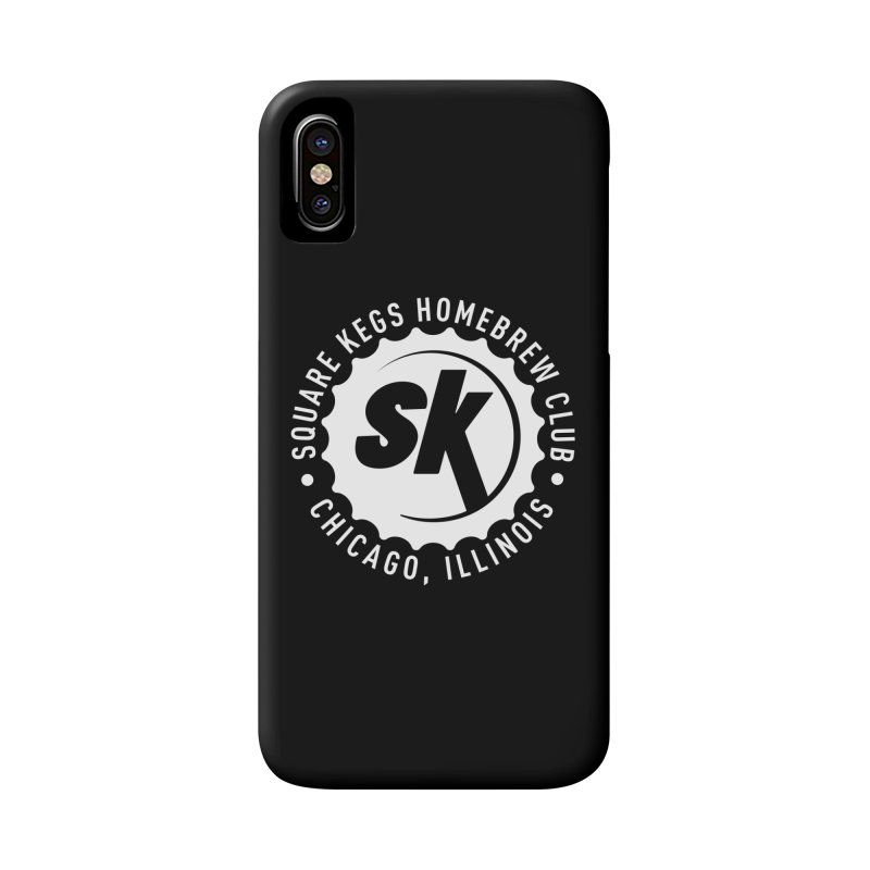 Square Kegs Accessories Phone Case by squarekegs's Shop