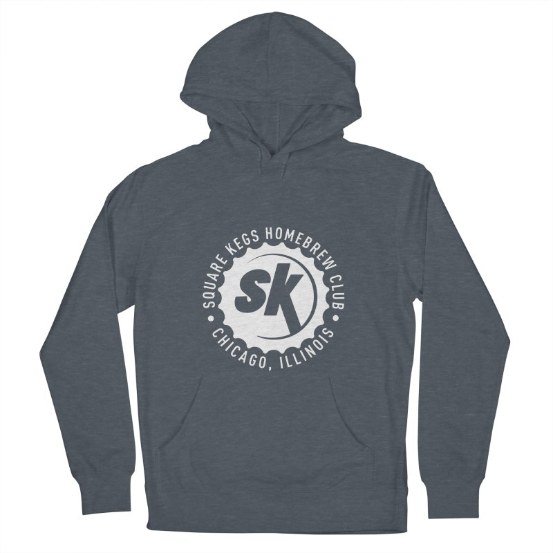 Square Kegs Men's French Terry Pullover Hoody by squarekegs's Shop