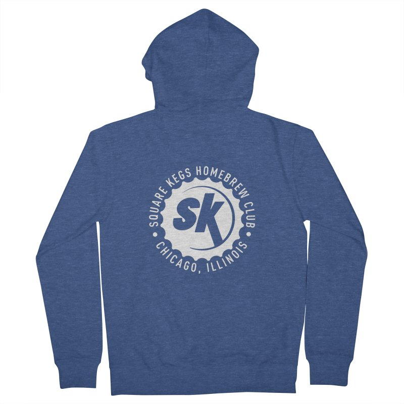 Square Kegs Women's French Terry Zip-Up Hoody by squarekegs's Shop