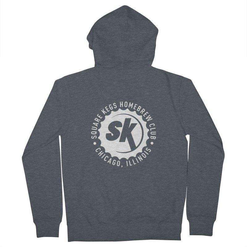 Square Kegs Men's Zip-Up Hoody by squarekegs's Shop