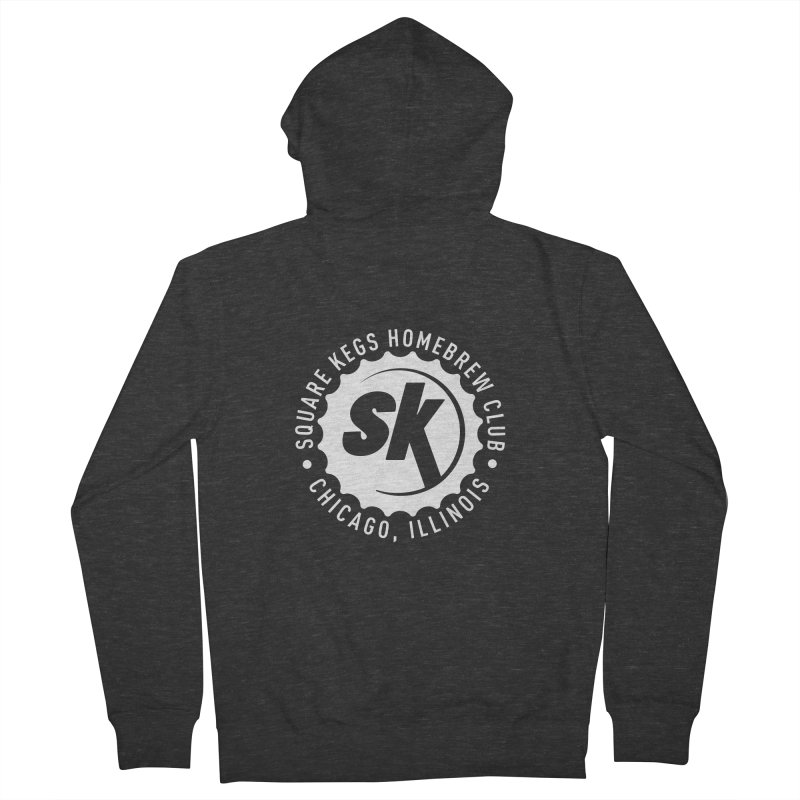 Square Kegs Men's French Terry Zip-Up Hoody by squarekegs's Shop