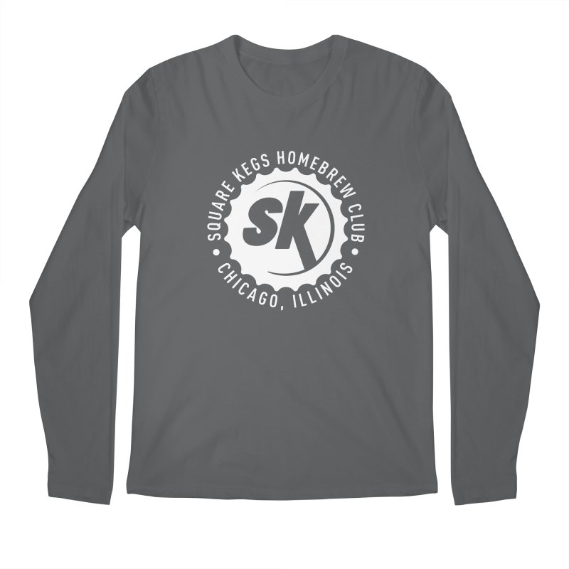 Square Kegs Shirt Men's Regular Longsleeve T-Shirt by squarekegs's Shop