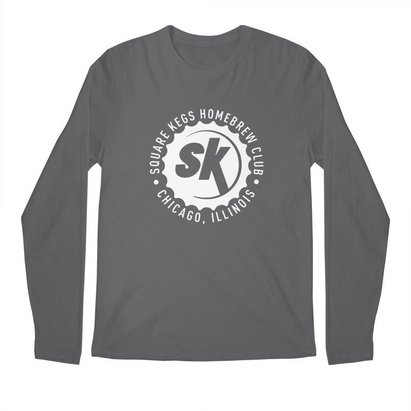 Square Kegs Shirt Men's Longsleeve T-Shirt by squarekegs's Shop