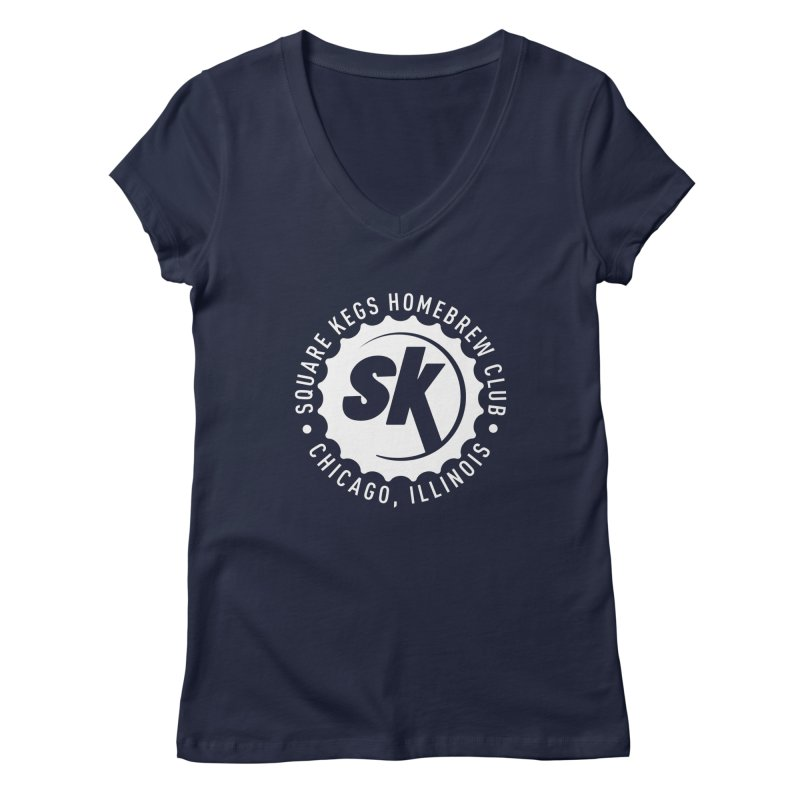 Square Kegs Shirt Women's V-Neck by squarekegs's Shop