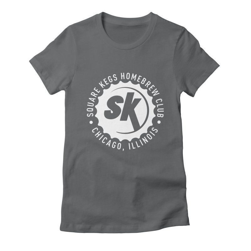 Square Kegs Shirt Women's Fitted T-Shirt by squarekegs's Shop