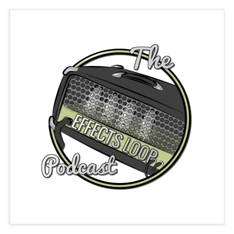 The Effects Loop Home Fine Art Print by Square Squirrel Studios's Shop