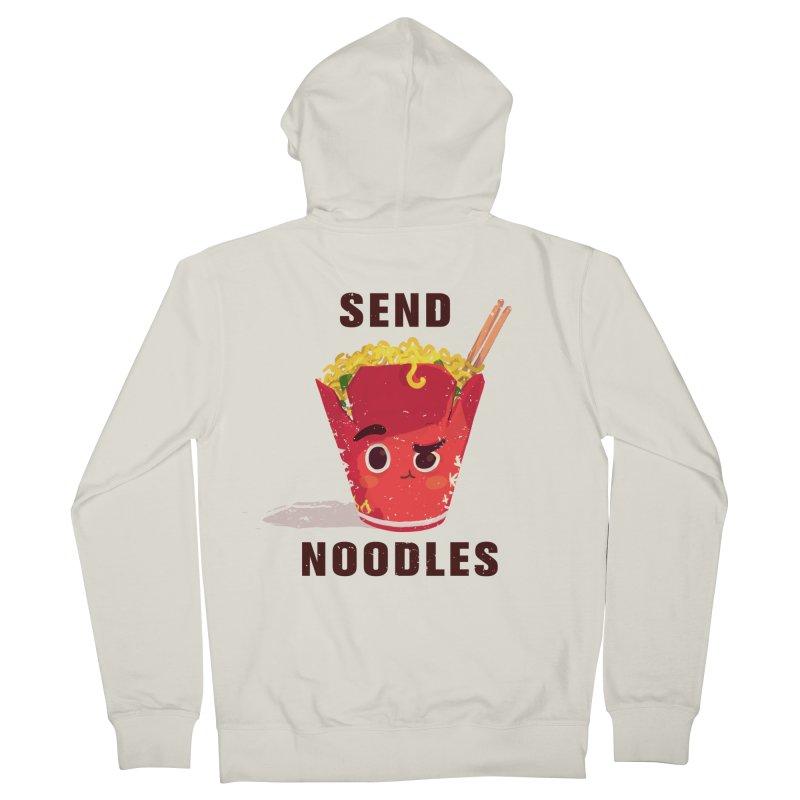 Send Noodles Men's Zip-Up Hoody by sraderezo's Artist Shop